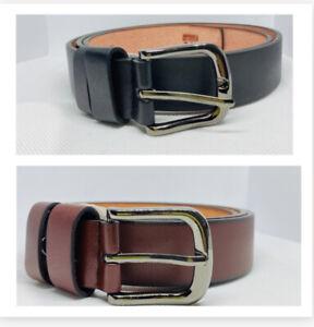 Boys Adjustable Belts - Brown or Black
