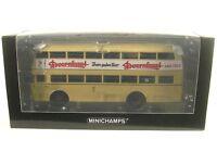 Büssing D2U 2-Deck-Bus (Doornkaat) BVG Berlin (Linie: 73E) 1955