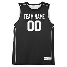 Custom Basketball Jersey - Youth to Adult - Four Colors Available - Personalize
