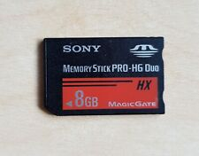 Official SONY Memory Stick Pro-HG Duo HX 8GB Genuine Black Card 8.0 gb PSP