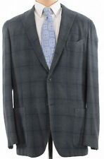 Boglioli NWT K. Jacket / Sport Coat Size 48L Green W/ Blue Plaid Cashmere $2,295