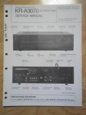 Kenwood Service Manual~KR-A3070 Receiver~Original Repair Book