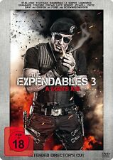 The Expendables 3 - A Man's Job (Extended Director's Cut -DVD) Steelbook