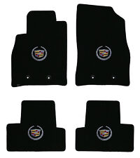 LLOYD Classic Loop™ FLOOR MAT SET silver crest logos on all 4 mats Cadillac ELR