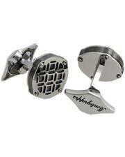 "MONTEGRAPPA - ""Filigree"" Stainless Steel Round Cufflinks - IDOMCLPR"
