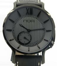 NOA Slim Watch 18.60 MSLQ-011 Gray Dial Black Case 40mm New w/ B&P $NR Auction!