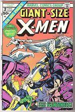 GIANT SIZE X MEN #2 MARVEL 1975 VF CONDITION