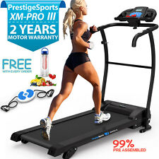 XM-PRO III™ TREADMILL  Manual Incline Electric Motorised Folding Running Machine