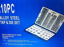 110 Pc Tap and  Die Set Metric and SAE. Top Quality. Complete set