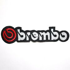 Brembo Car Motorcycles F1 Auto Sports Racing Jacket T-Shirt Applique Iron Patch