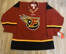 NWT CCM INDIANAPOLIS INDY FUEL AUTHENTIC HOCKEY JERSEY 48 ECHL