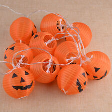 1.6M 10 Pumpkins LED String Light Pumpkin Lights for Halloween Decoration Party