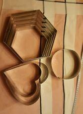 moule, cercle, cadre à pâtisserie inox qualité pro lot de 8 Valrhona chef inox