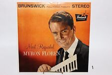 "Myron Floren ""Most Requested"" Brunswick Hi-Fi Stereo LP Minty Accordion Music"