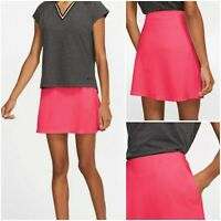 """NWT $70 NIKE Women 17"""" Dri-FIT Victory Golf Skirt Skort Bright Coral SELECT SIZE"""