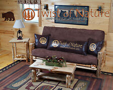 Rustic Log Futon! Available in 3 sizes! Love seat, Full and Queen