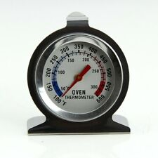 Stainless Steel Oven Cooker Thermometer Temperature Hang Or Stand In 300ºC 600ºF