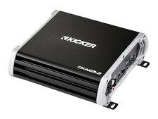 Kicker DX 125 W 2 CANALI CLASSE D FULL-RANGE Amplificatore Kit di cablaggio GRATIS!