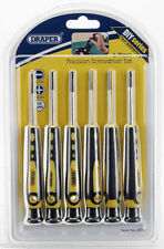 DRAPER TOOLS 6 Piece Precision Screwdriver Set Jewellers Watch Phone Electronics