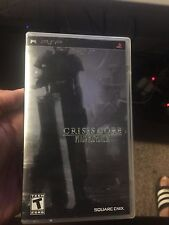 Crisis Core: Final Fantasy VII 7 (Sony PSP, 2008) Limited Metallic Cover edition