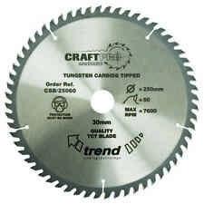 Trend Craft saw blade 215mm x 60 teeth x 30mm CSB/21560