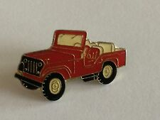 Willys Jeep pin ele rojo-nuevo + original! rar ya no disponible metal!