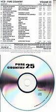COUNTRY MUSIC VCD VIDEO CD KID ROCK SARA STORER BILLY RAY CYRUS ALAN JACKSON