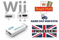 WII TO HDMI ADAPTER WII2HDMI OUTPUT 1080P CONVERTER 3.5MM AUDIO FULL HD