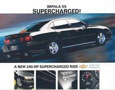 2004 Chevrolet Impala SS Supercharged Brochure mw6887-FXCNBC
