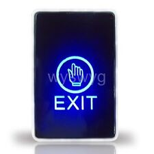 Wall Mount Touch Sensor Switch Buttion With LED For Door Access Control system