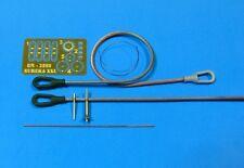 T-90 remorquage câbles avec supports (2PCS), PKMT baril tip, antenne avec base #50 1/35 eureka