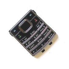 100% Original Nokia 6500 Classic Teclado Original teclas numéricas Botones Negro 6500c