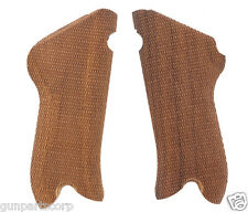 Luger P-08 Grips, Checkered, Walnut