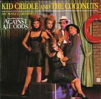"KID CREOLE AND THE COCONUTS my male curiosity VS 690 uk virgin 1984 7"" PS EX/EX"