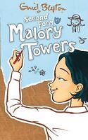 Second Form at Malory Towers by Enid Blyton, Good Used Book (Paperback) Fast & F