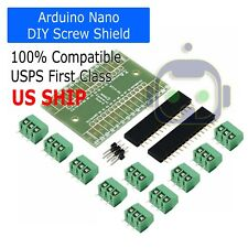 Screw Terminal Expansion Adapter Board Shield 4 Arduino Nano V3.0 ATMEGA328P