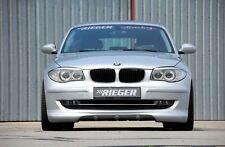 Rieger Frontspoilerlippe für BMW 1er E87 ab Facelift