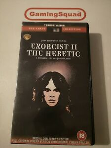 Exorcist 2 The Heretic VHS Video Retro, Supplied by Gaming Squad