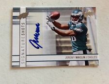 2009 Upper Deck Signature Shots Autograph Jeremy Maclin RC Eagles Rookie Auto