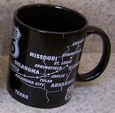 Coffee Mug Explore America Route 66 map  NEW 11 ounce cup with gift box