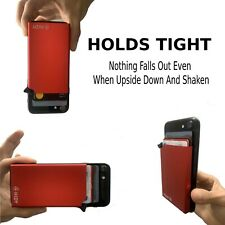 RFID Anti-Theft Pop-Up Aluminum Adhesive Mobile phone Card Holder Wallet Sticker