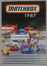 1987 Matchbox DIN A5 Sammler Katalog Deutsche Ausgabe, 48 Seiten German Issue