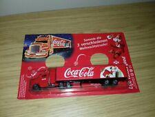 Full Set Of Coca Cola 3x Aluminium Can Santa Christmas Truck Zero Poland Edition