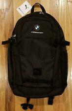 PUMA BMW M MOTORSPORT BACKPACK BAG BLACK 075746 01