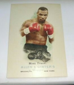 2006 Topps Allen Ginter #301 MIKE TYSON SP Boxing Card HEAVYWEIGHT Champion RC