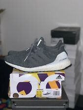 Adidas Ultraboost 4.0 Grey-Green Size 9.5 With Box (Pre-owned)