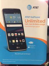 Brand New AT&T LG Phoenix 2 4G LTE GSM 16GB Prepaid Phone Black