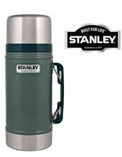 2 X 0.7L STANLEY CLASSIC VACUUM FOOD JAR FLASK STAINLESS STEEL HOT COLD THERMOS