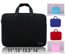 "Double-Layer Laptop Case Carry Sleeve Bag MacBook Air Pro 11"" 12"" 13"" 14 inch"