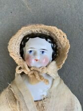 Antique China Porcelain Head Doll ! Looks all original .